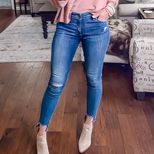 Lucky Brand mid-rise Ava Skinny, size 2